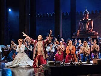 The King and I op Broadway - Cast