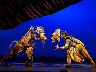 The Lion King op Broadway Tickets - Gevecht