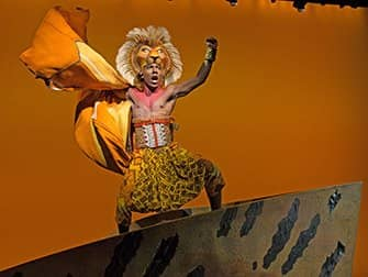 The Lion King op Broadway Tickets - Simba