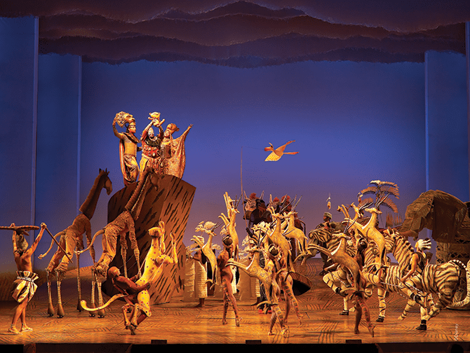 Kostuums Lion King.The Lion King Op Broadway Tickets Newyork Nl