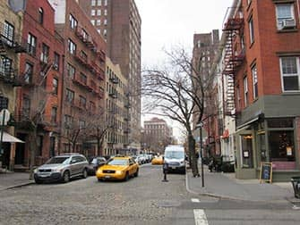 West Village in NYC - Cobblestone Street
