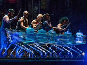 STOMP in New York Tickets - Karretjes