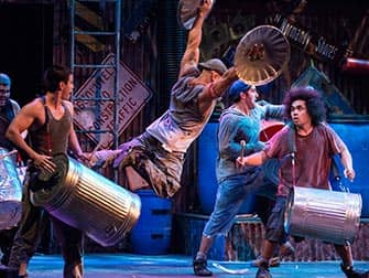 STOMP in New York Tickets - Vuilnisbakken