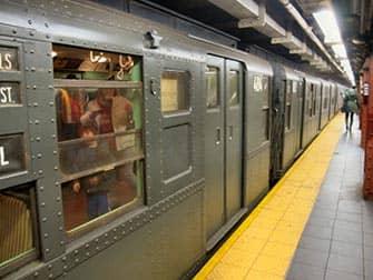 Vintage Metros in NYC - speciale trein