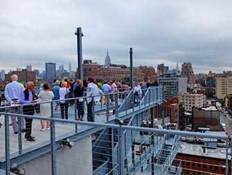 Whitney Museum in New York - Buitenterras