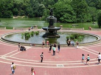 Fietsen in New York met Nederlandse gids - Bethesda Fountain