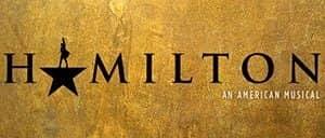 Hamilton op Broadway