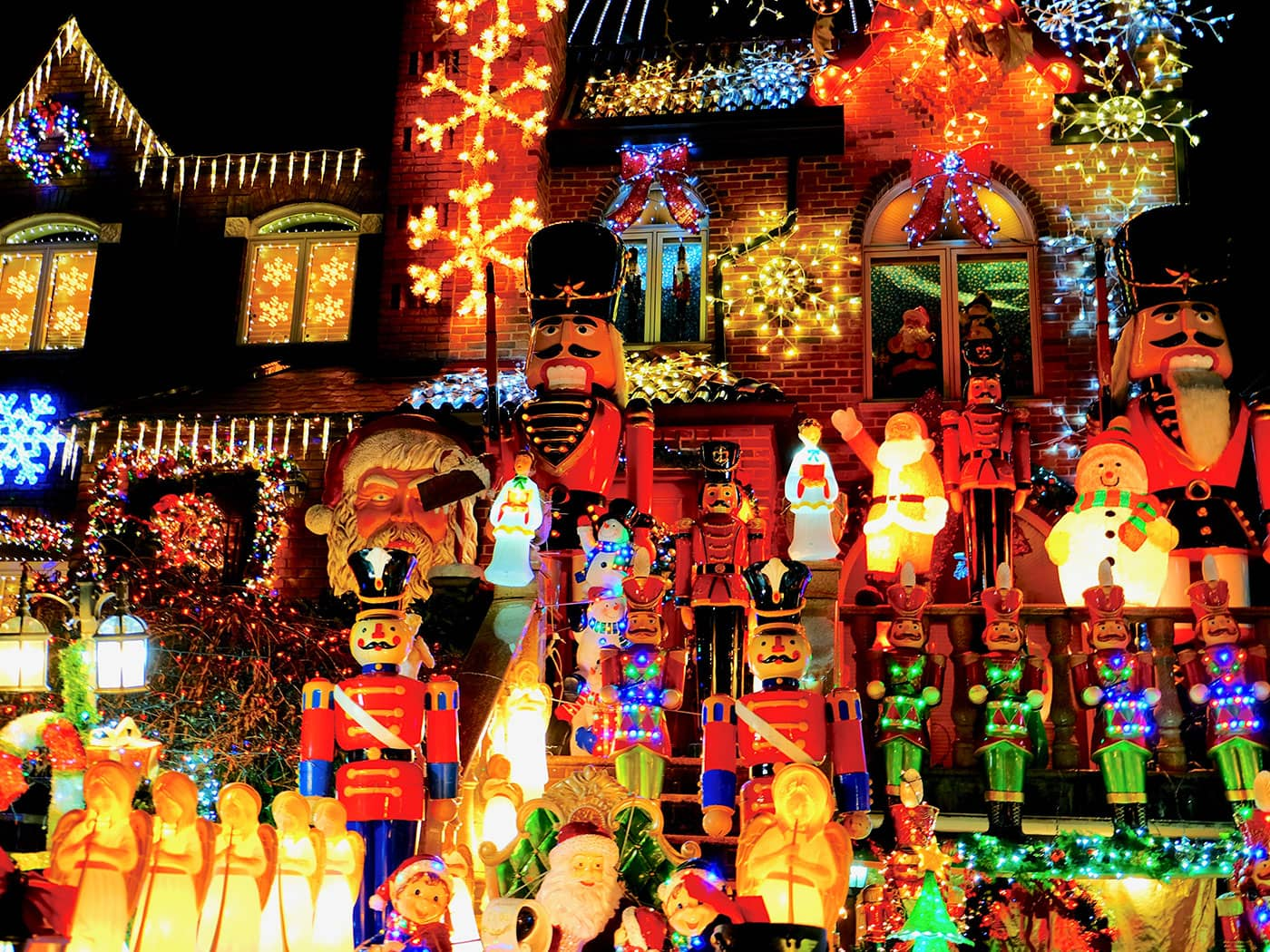 Dyker Heights Christmas Lights - Kerstfiguren