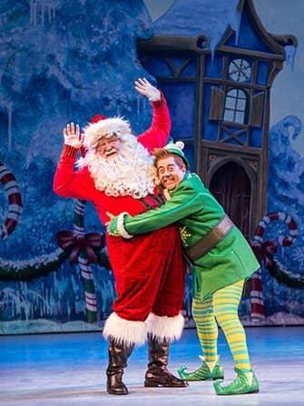 Elf de Kerstmusical Tickets - Buddy en Santa