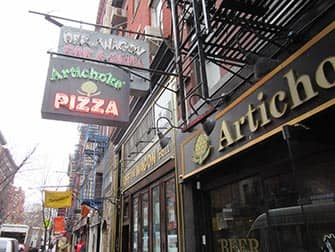 West Village Food Tour in New York - Artichoke Pizza