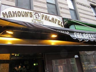 West Village Food Tour in New York - Mamouns Falafel
