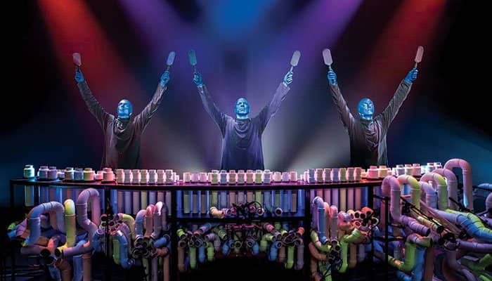 Blue Man Group in New York Tickets - Armen Omhoog