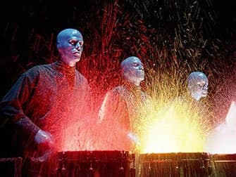Blue Man Group in New York Tickets - Spetterende Drums