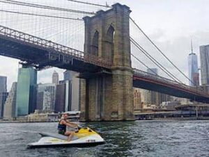 Jetskiën in New York