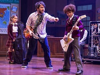 School of Rock op Broadway - Rock and roll les