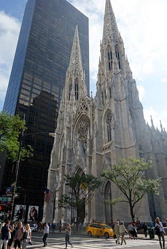 St Patricks Cathedral in New York - Kathedraal op Fifth Avenue