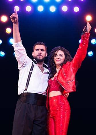 On Your Feet op Broadway - Emilio en Gloria