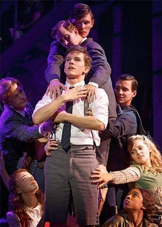 Spring Awakening op Broadway - Cast