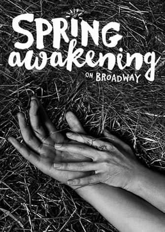 Spring Awakening op Broadway - Poster