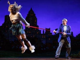 Sylvia op Broadway - Voorstelling