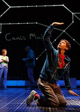 The Curious Incident of the Dog in the Night-Time op Broadway - Voorstelling