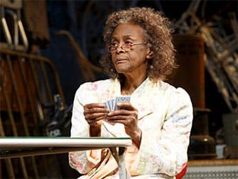 The Gin Game op Broadway - Cecile Tyson