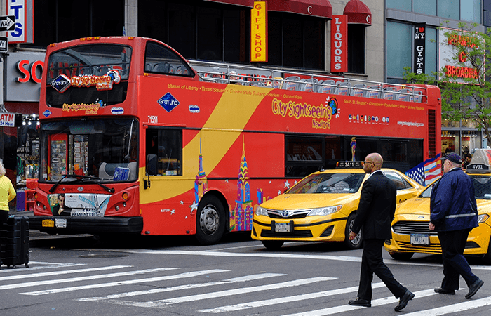 CitySightseeing Hop-on Hop-off bus in New York - De Bus