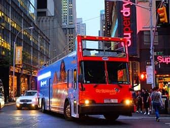Gray Line Hop-on Hop-off bus in New York - Avondtour