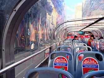 Gray Line Hop-on Hop-off bus in New York - Bovendek