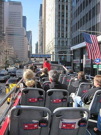 Gray Line Hop-on Hop-off bus in New York - Gids