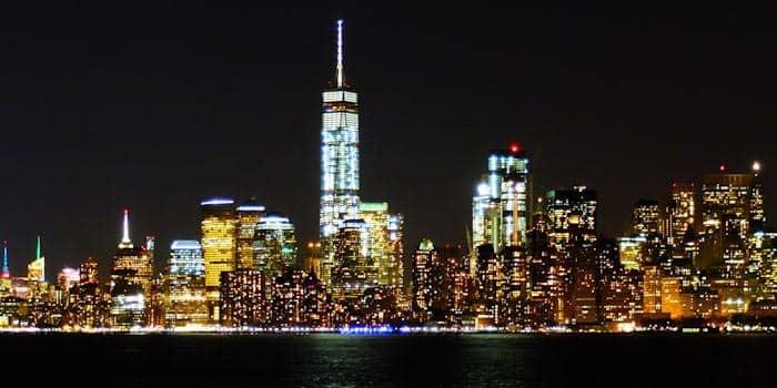 Avondtour in New York - Uitzicht vanaf Water Taxi