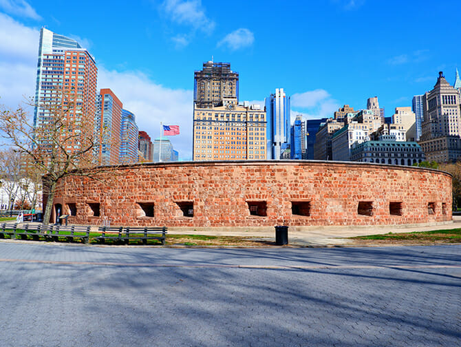 Nederlandse Geschiedenis Wandeltour in New York - Castle Clinton