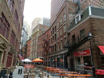 Nederlandse Geschiedenis Wandeltour in New York - Stone Street