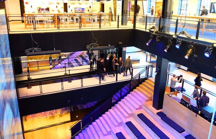 Samsung Store in New York - Winkelinrichting