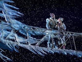 Frozen op Broadway Tickets - Anna en Kristoff
