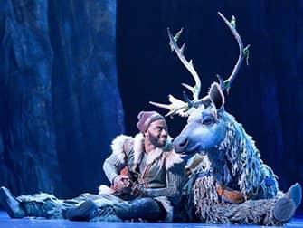 Frozen op Broadway Tickets - Kristoff en Sven