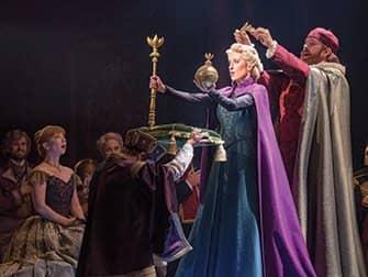 Frozen op Broadway Tickets - Kroning
