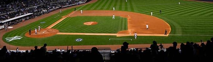 Baseballwedstrijd: New York Yankees