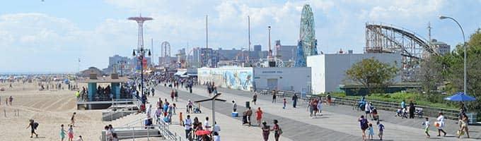 New York zomerattractie: Coney Island