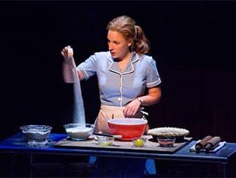 Waitress op Broadway Tickets - Bakken