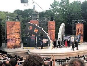 Shakespeare in the Park in New York