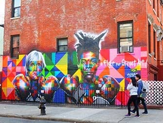 Brooklyn, Queens en The Bronx Tour - Graffiti in Williamsburg