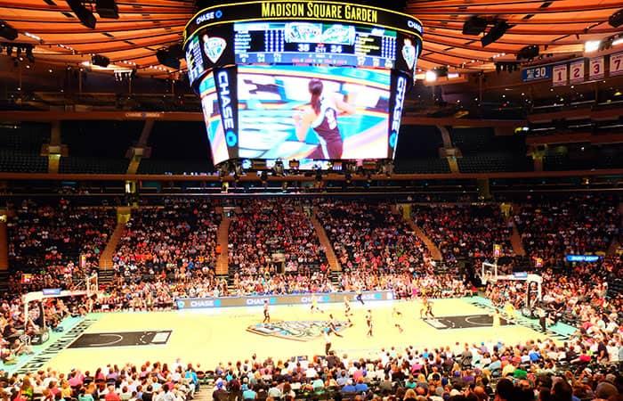 New York Liberty Basketbal Tickets - Sfeer
