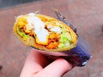 Street food in New York - Indisch