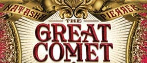 Josh Groban in The Great Comet op Broadway Tickets