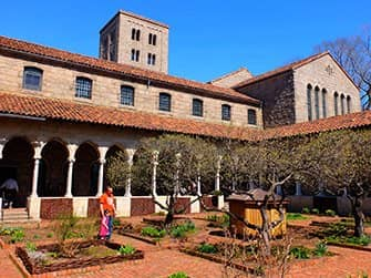 The Met Cloisters in New York - Tuin