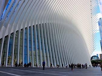 World Trade Center Transportation Hub - Oculus Buitenkant