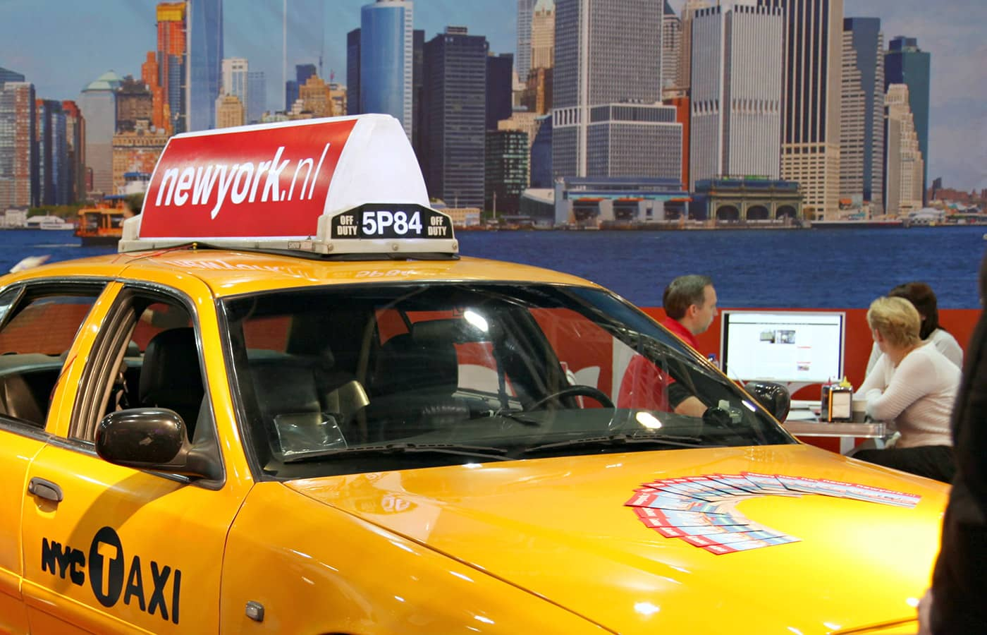 NewYork.nl op Vakantiebeurs 2019 - yellow cab