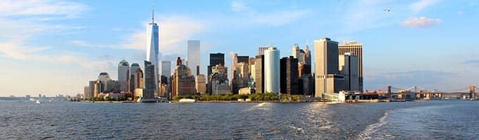 Boottochten in New York