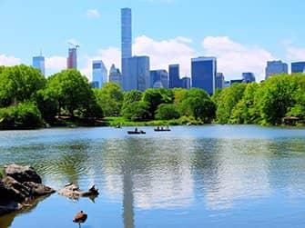 Roeiboot huren in Central Park - The Lake